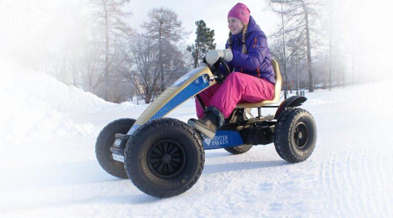 äventyret i vinterparken östersund